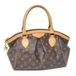 Auth Louis Vuitton Tivoli PM Monogram Shoulder Bag